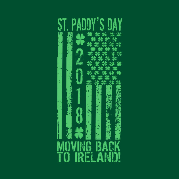 St Patrick's Day Moving Back to Ireland