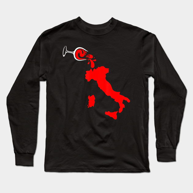 Cool Vino Italy T-Shirt for Wine Lovers