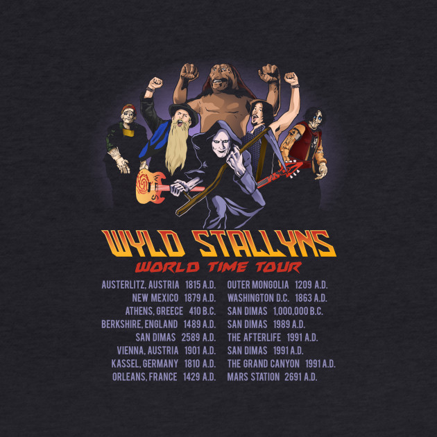 Wyld Stallyns World Time Tour