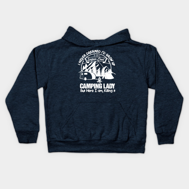 Cool Camping lady T-shirt