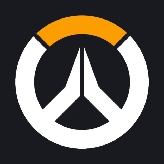 Overwatch Logo - Top Left White