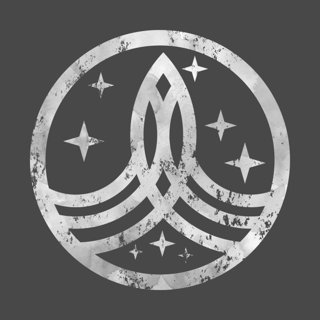 The Orville Logo Distressed