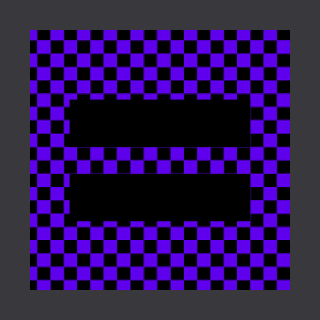 Checkerboard Equality purple