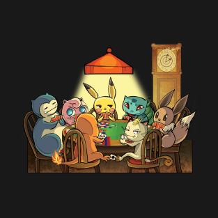 Pokermon t-shirts