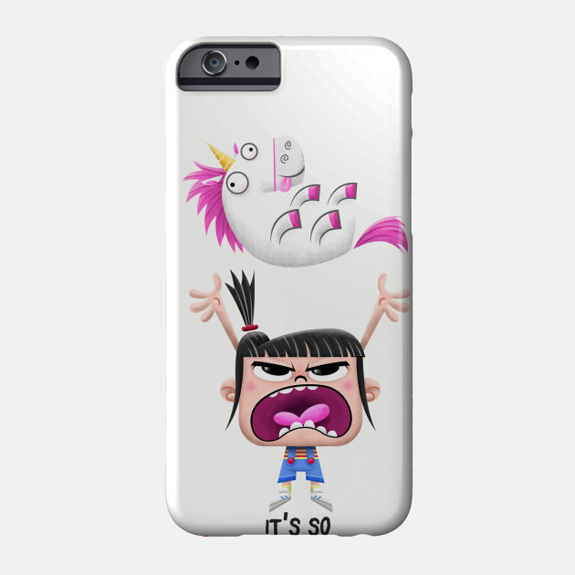 it 39 s so fluffy unicorn phone case teepublic. Black Bedroom Furniture Sets. Home Design Ideas