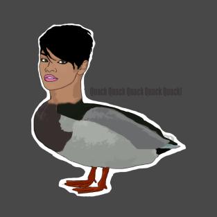 Thekosmic8 Rihanna Duck Quack Quack t-shirts