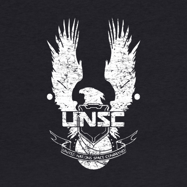 UNSC LOGO HALO 4 - GRUNT DISTRESSED LOOK