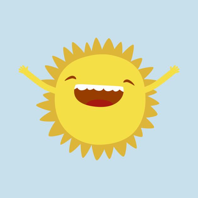 happy sun cute tshirt teepublic