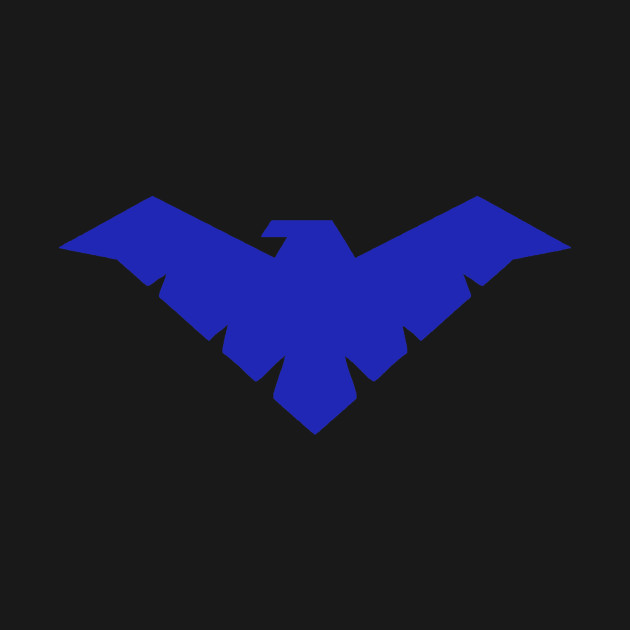 Young Justice Nightwing Symbol Justice League T Shirt Teepublic