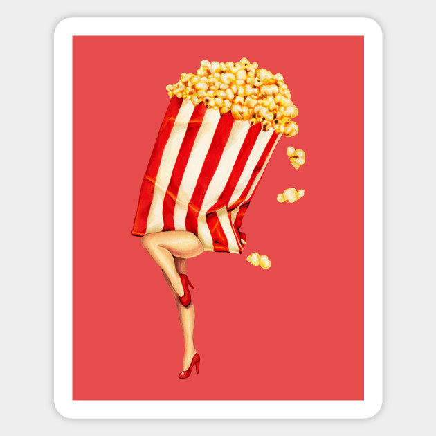Movie Girls Popcorn Girl