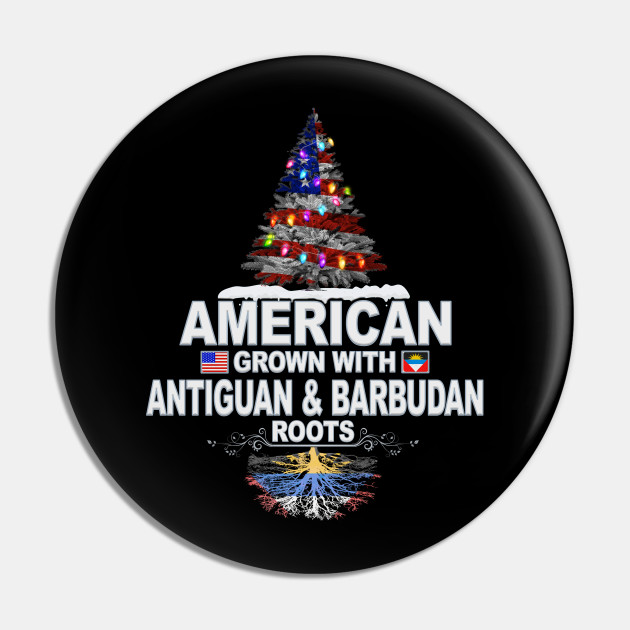 Christmas Tree  American Grown With Antiguan & Barbudan Roots - Gift for Antiguan & Barbudan From Antigua & Barbuda