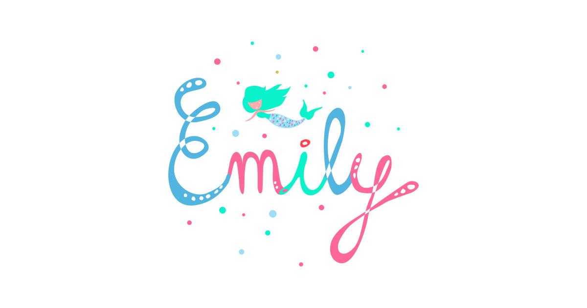 name Emily - Name - Sticker   TeePublic