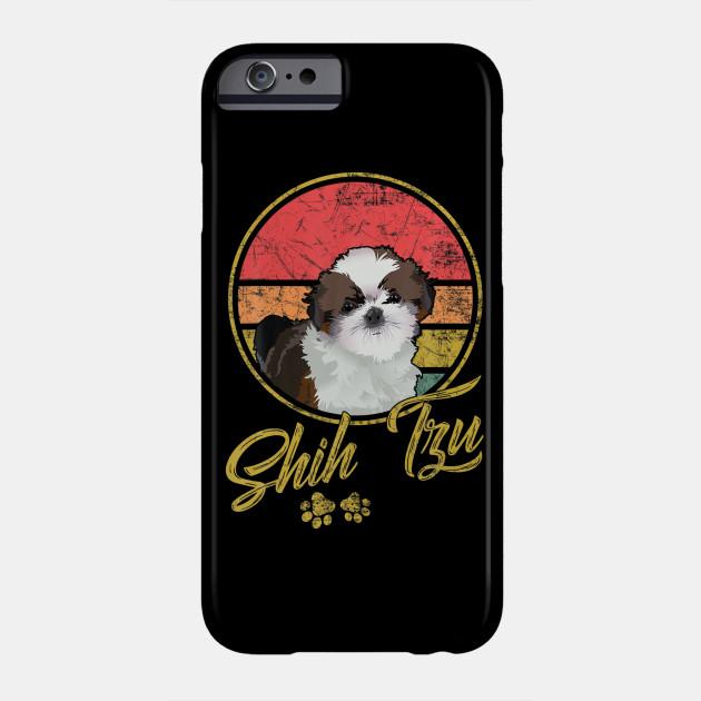 Funny Vintage Shih Tzu Gift For Dog