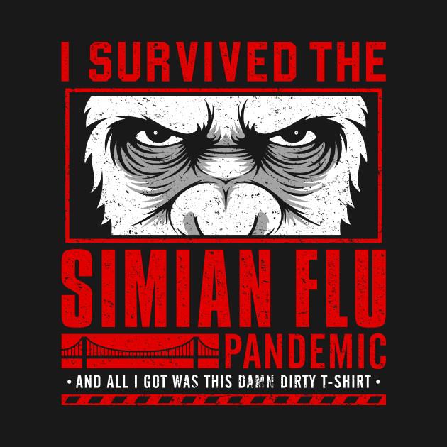I Survived The Simian Flu T-Shirt