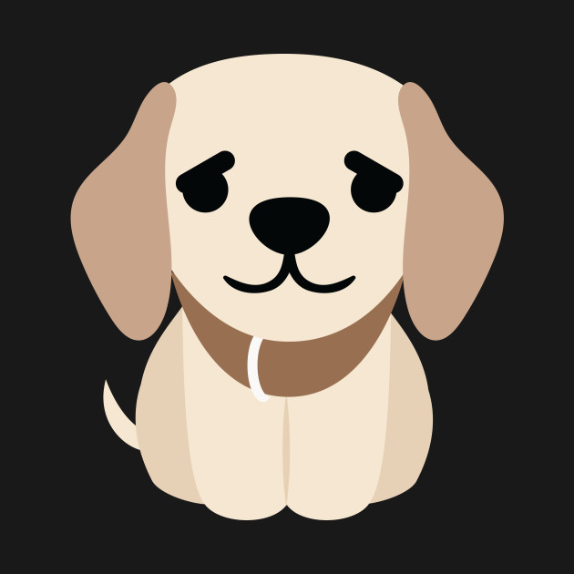 Golden Retriever Dog Emoji Puppy Eye Pretty Please
