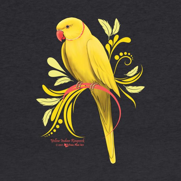 Yellow Indian Ringneck Parrot Indian Ringneck Parrots Bluza Z
