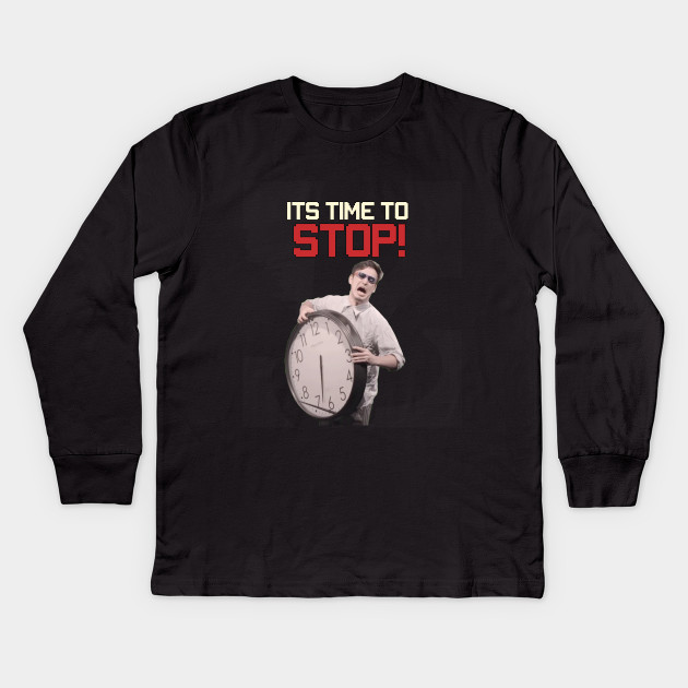 fca75fbad Its time to STOP - Filthy Frank - Kids Long Sleeve T-Shirt   TeePublic