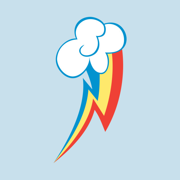 ... Rainbow Dash Cutie Mark My Little Pony