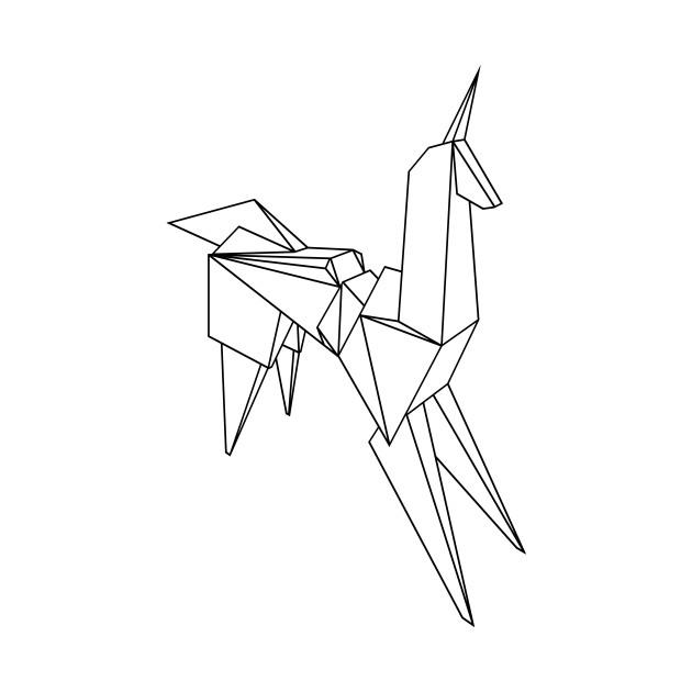 Origami Blade Runner Unicorn … | Origami blade runner, Origami ... | 630x630