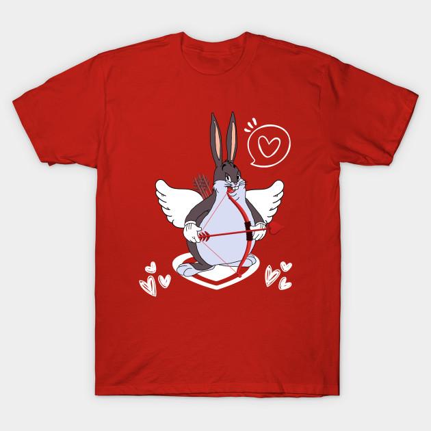 Cupid Chungus Dank Memes Valentines Day V3 Big Chungus T