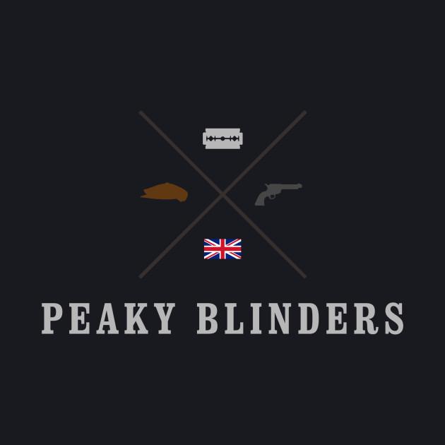 Peaky Blinders - Cross Logo - Colored Clean