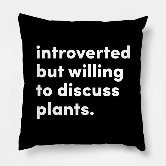 Introverted but willing to discuss plants. Original Design by @jrlefrancois