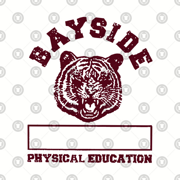 Saved By the Bell Bayside Tiger Mascot