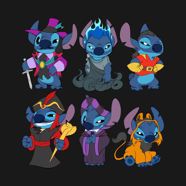 90's Kids Halloween Time Stitch