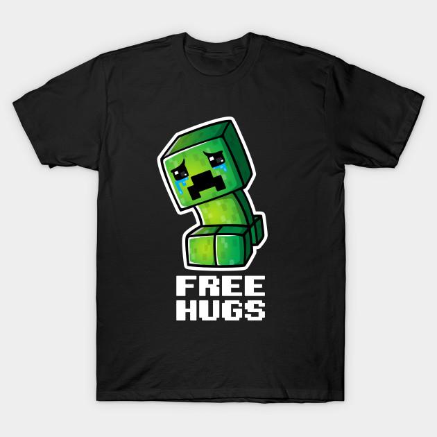 Sad Creeper Minecraft T Shirt Teepublic