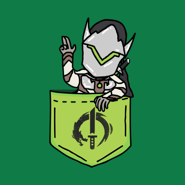 Pocket Genji (An Overwatch Design)