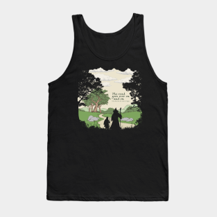 White Hand Adult Tank Top Lord of the Rings