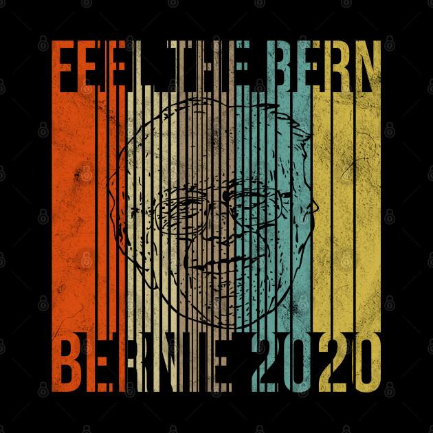 Feel The Bern Vinyl Decal Bernie Sanders 2016 Political