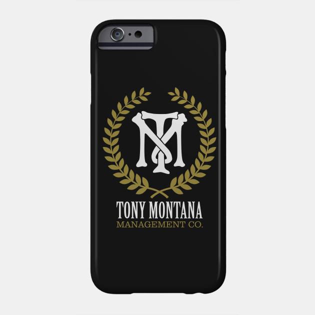 Tony Montana Management Co Scarface Phone Case Teepublic