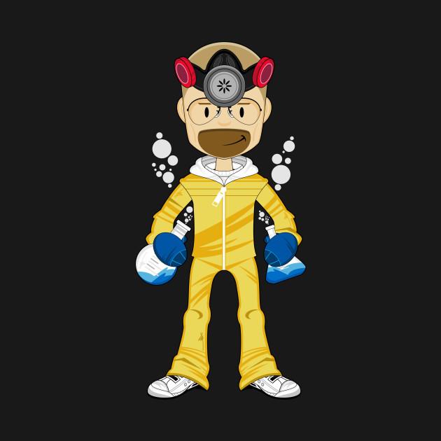 e69647b10 Cartoon Breaking Bad Walter White - Breaking Bad - T-Shirt | TeePublic