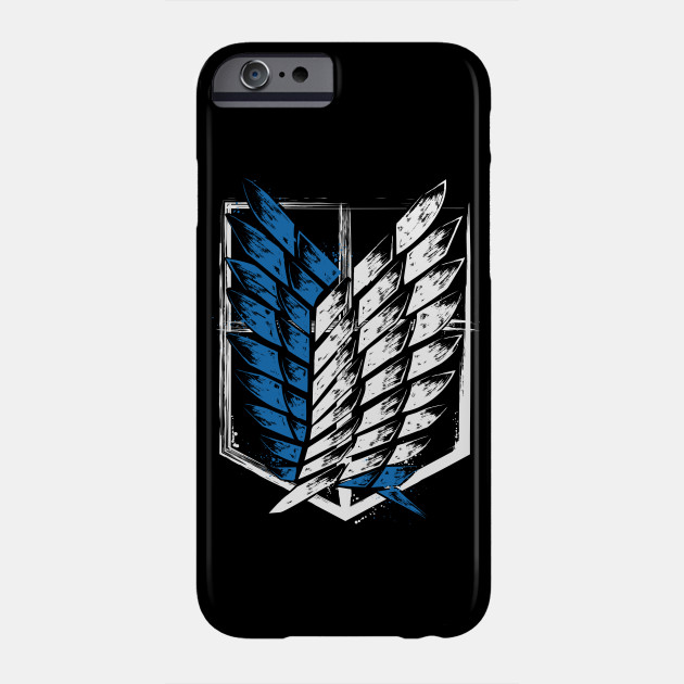 Wings of Freedom Attack on Titan Shingeki no Kyojin iphone case