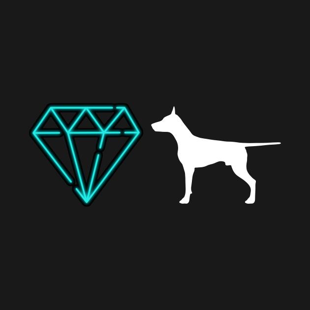 Diamond Dog (Neon black)