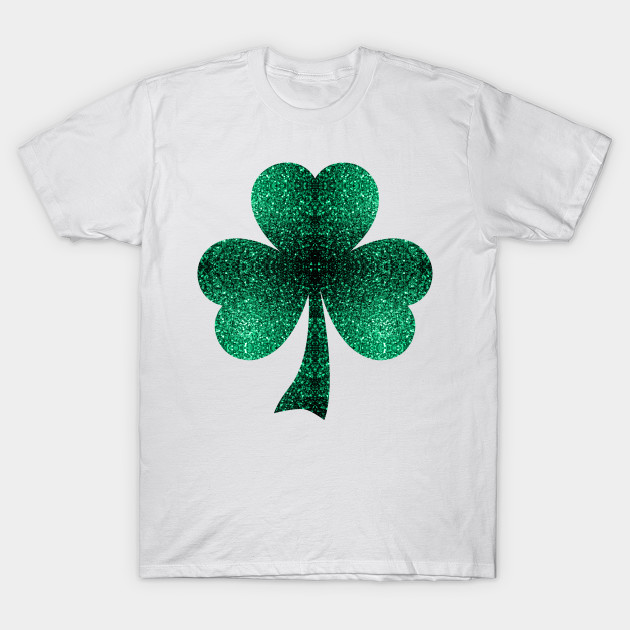 36658474 Beautiful Emerald Green Sparkles Shamrock Clover - St Patricks Day ...