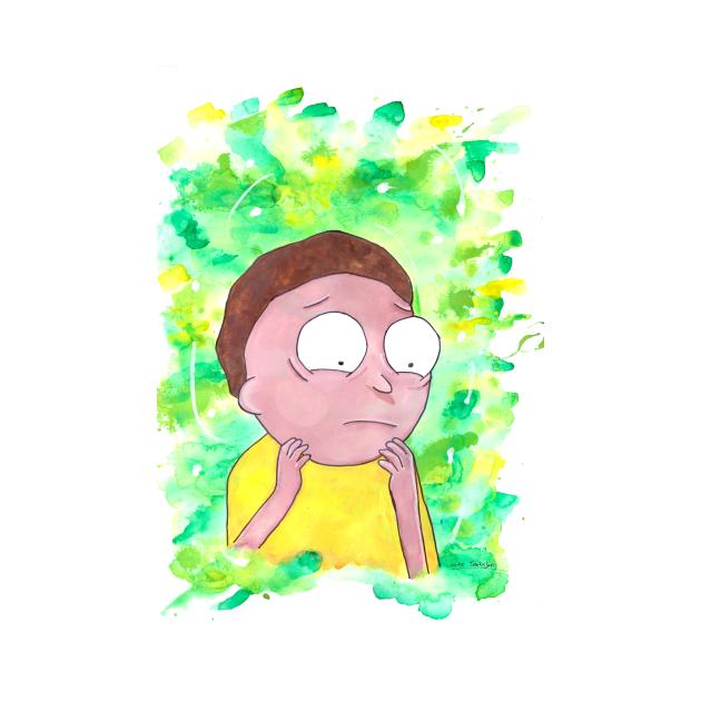 Morty - Watercolour
