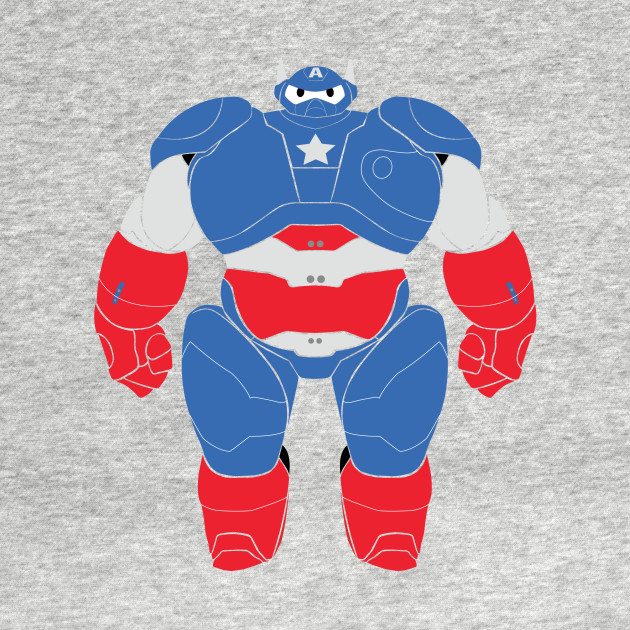 Baymax (Captain America Armored)