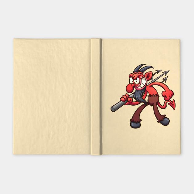 Vintage cartoon devil