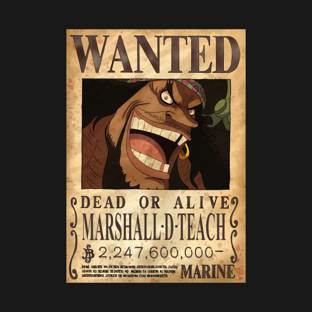 Marshall D. Teach Blackbeard