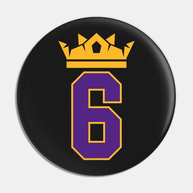 King James Lakers 6