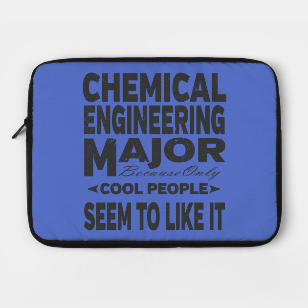 Chemical Engineering College Major Laptop Case