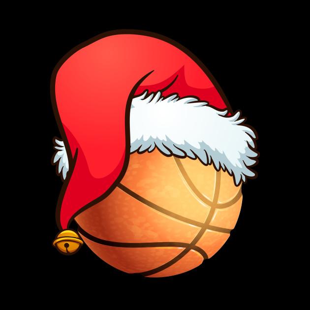 Basketball Ball Santa's Hat Christmas Xmas Player Fan Gift