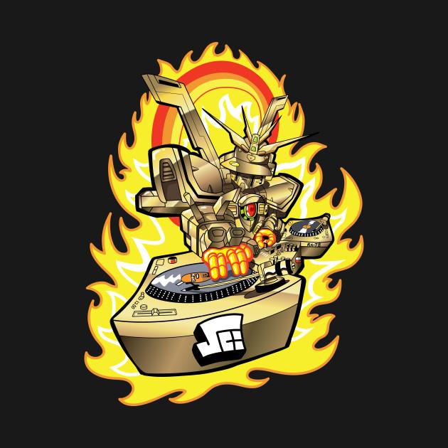 Burning Finger Turntablist GOLD