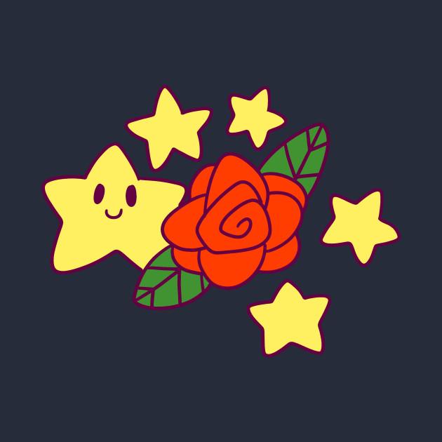Rose and Stars
