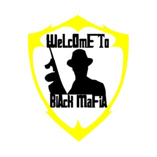 Black Mafia Yellow Logo t-shirts
