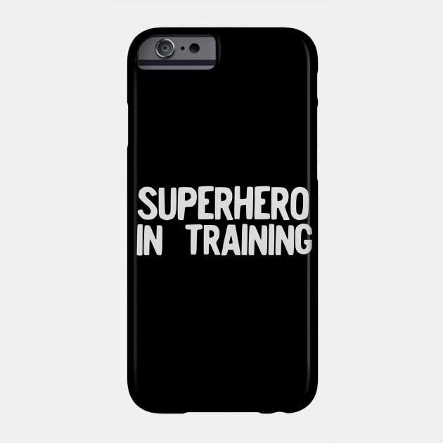 Superhero in Training Halloween Costume Funny Pajama design Phone Case