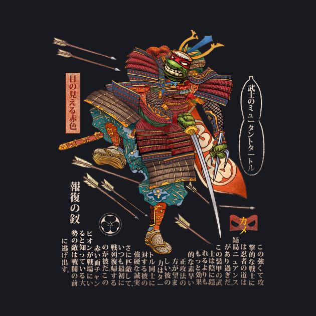 Samurai Turtle-Raphael