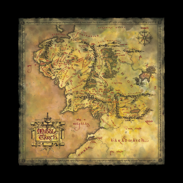 Middle Earth Middle Earth Tapestry Teepublic